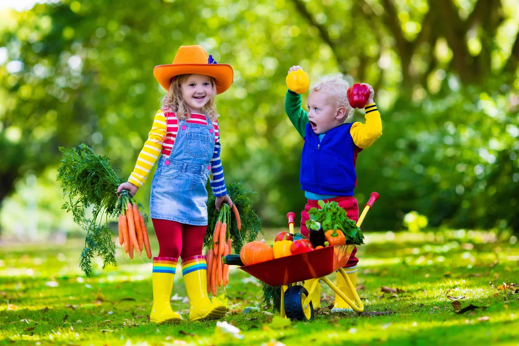 This is what your child may not be learning in the for Gardening with children
