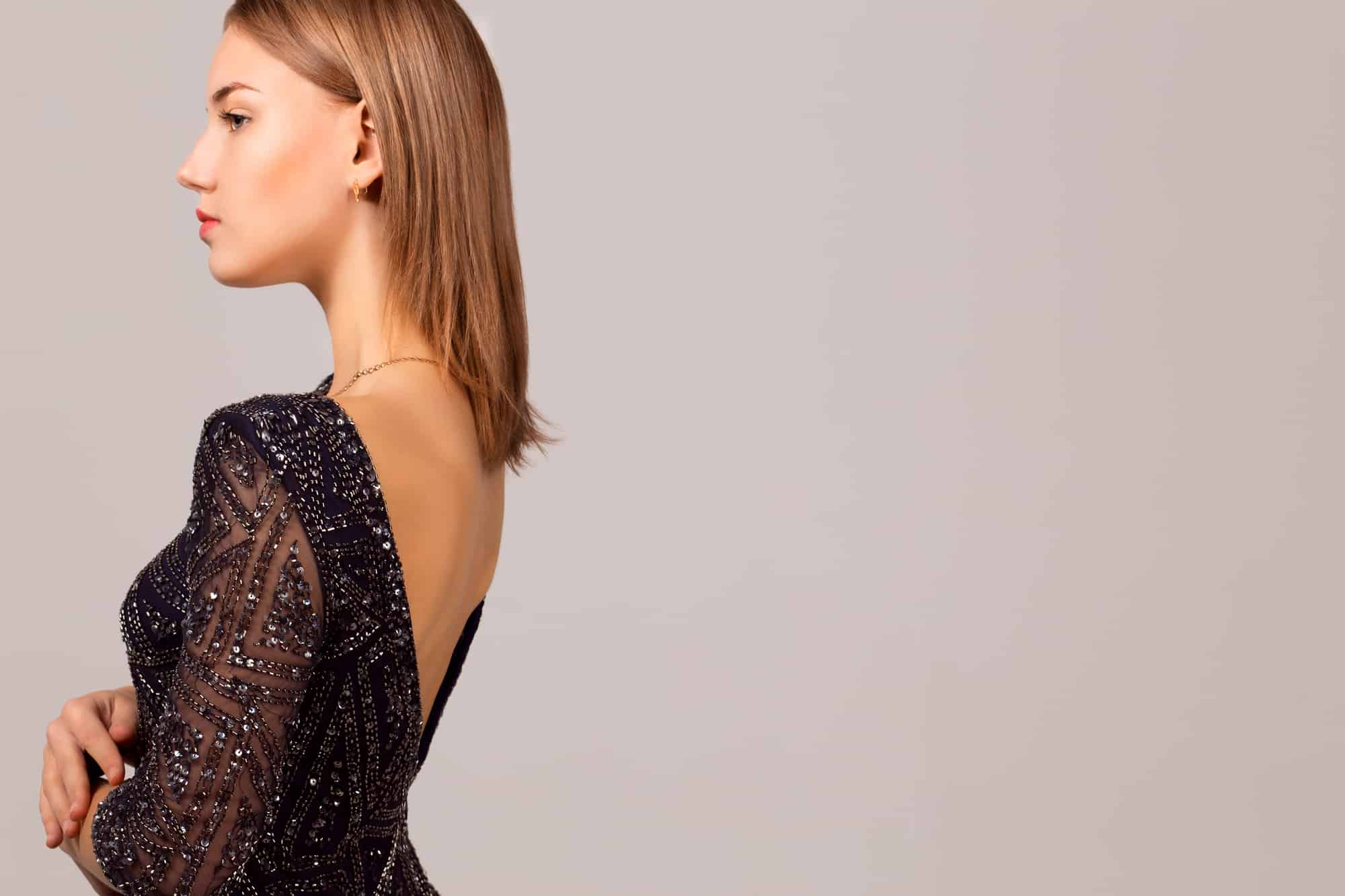How To Sew A Bra Into A Backless Dress
